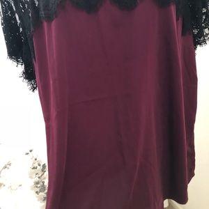 torrid Tops - Silk and lace torrid top
